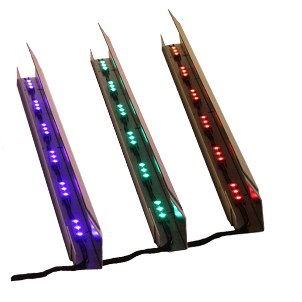 Gabion LED RGB Beleuchtung IP68 1 Meter | Gabion Steinkörbe